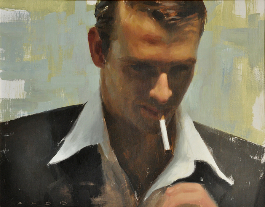 Catto gallery, London, Men painting Men,22nd January